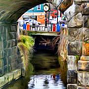 Ellicott City Bridge Arch Poster by Stephen Younts