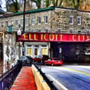 Ellicott City Poster by Stephen Younts