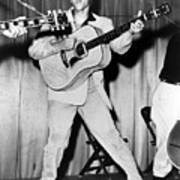 Elvis Presley, C. Mid-1950s Poster by Everett