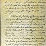 Emancipation Proc., P. 1 Poster by Granger