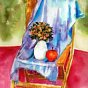 Empty Chair Poster by Zara GDezfuli