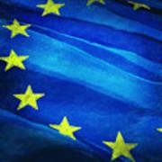 European Flag Poster by Setsiri Silapasuwanchai
