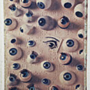 Eyes On Braille Page Poster by Garry Gay