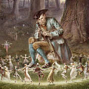 Fairy Dance Poster by William Holmes Sullivan