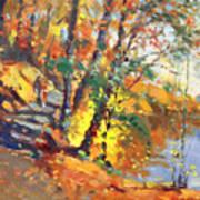Fall In Bear Mountain Poster by Ylli Haruni