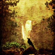 Felt Mountain Poster by Andrew Paranavitana