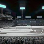 Fenway Infrared Poster by James Walsh