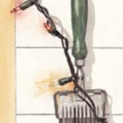 Festive Antique Herb Cutter Poster by Ken Powers