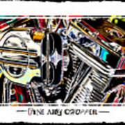 Fine Art Chopper II Poster by Mike McGlothlen