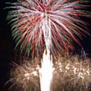 Fireworks Poster by Ernesto Grossmann