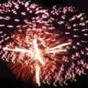 Fireworks Fun Poster by Debra     Vatalaro