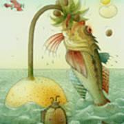 Fish Poster by Kestutis Kasparavicius