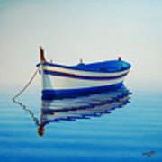 Fishing Boat II Poster by Horacio Cardozo