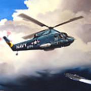 Flight Of The Seasprite Poster by Marc Stewart
