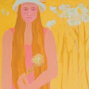 Flower Child Poster by Renee Kahn