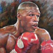 Floyd Mayweather Jr Poster by Ylli Haruni