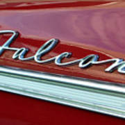 Ford Falcon Poster by David Lee Thompson