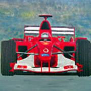Formula 1 Poster by Ken Pursley