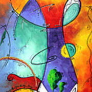 Free At Last Original Art By Madart Poster by Megan Duncanson