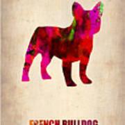 French Bulldog Poster Poster by Naxart Studio