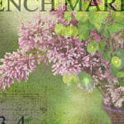 French Market Series M Poster by Rebecca Cozart