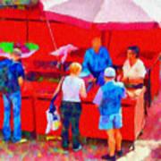 Fruit Of The Vendor Poster by Jeff Kolker