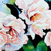 Garden Roses Poster by Hanne Lore Koehler
