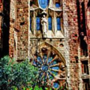 Gaudi Barcelona Poster by Tom Prendergast