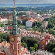 Gdansk Poster by Jaroslaw Grudzinski