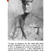 General Pershing - United War Works Campaign Poster by War Is Hell Store