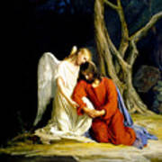 Gethsemane Poster by Carl Bloch