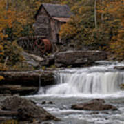 Glade Creek Mill 2011 Poster by Wade Aiken