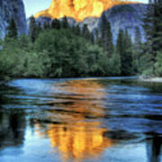 Golden Light On Half Dome Poster by Mimi Ditchie Photography