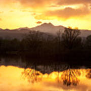 Golden Ponds Longmont Colorado Poster by James BO  Insogna