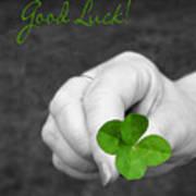 Good Luck Poster by Kristin Elmquist