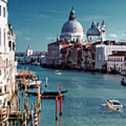 Grand Canal Of Venice Poster by Michelle O'Kane