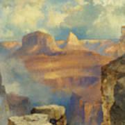 Grand Canyon Poster by Thomas Moran