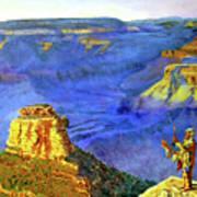 Grand Canyon V Poster by Stan Hamilton