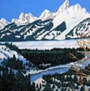 Grand Teton Poster by Frederic Kohli