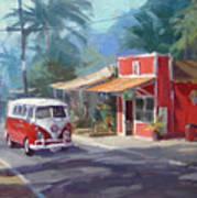 Haleiwa Poster by Richard Robinson