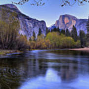 Half Dome Near Sunset Poster by Jim Dohms