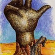 Hand Of Desolation Poster by Douglas Egolf