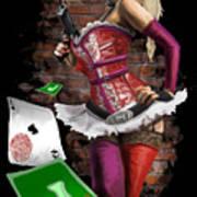 Harley Quinn Poster by Brett Hardin