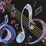 Harmony V Poster by Bill Manson