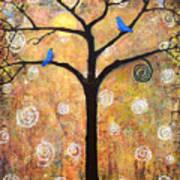 Harvest Moon Poster by Blenda Studio