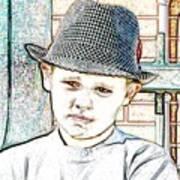 Hat Of A Hero Poster by Lynn Reid
