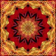 Healing Mandala 28 Poster by Bell And Todd