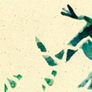Hear The Lizard Poster by Annie Alexander
