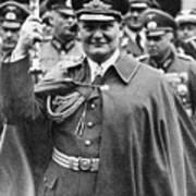 Hermann Goering 1893-1946, Holding Poster by Everett