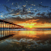 Hermosa Beach Poster by Neil Kremer